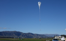 Nasa's balloon takes off in Wanaka.
