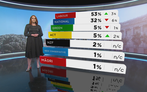 One News Colmar Brunton political poll results on July 30.