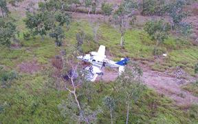 A Cessna twin engine aircraft crashed on an old airstrip outside PNG's capital on Sunday 26 July on a suspected drug run.