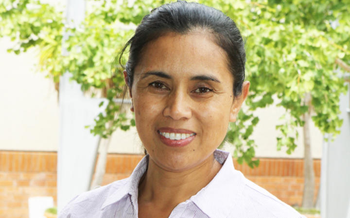 Jacinta Fa'alili-Fidow, coordinator of Pacific Data Sovereignty and Chief Executive Officer of Moana Research