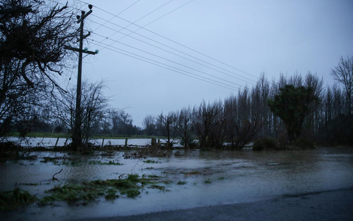 Flooding Canterbury (Greendale)
