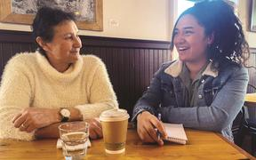 Ōpōtiki Mayor Lyn Riesterer and her mentee Te Aho Jordan have built a strong bond navigating the Tuia programme together.