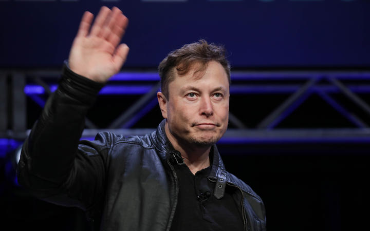 Elon Musk, Founder and Chief Engineer of SpaceX, attends the Satellite 2020 Conference in Washington, DC, United States on March 9, 2020.