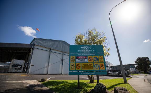 Americold Mt Wellington facility.