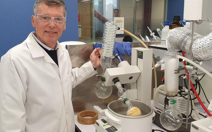 James Wright is a green chemist who develops new catalysts that could help clean up wastewater.
