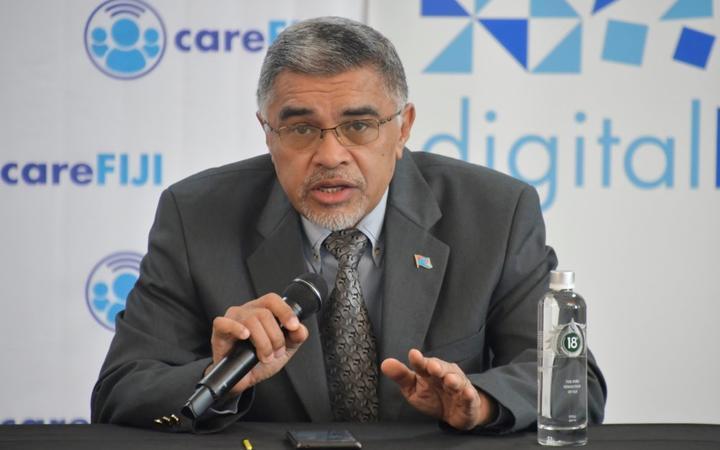 Permanent Secretary of Health, James Fong