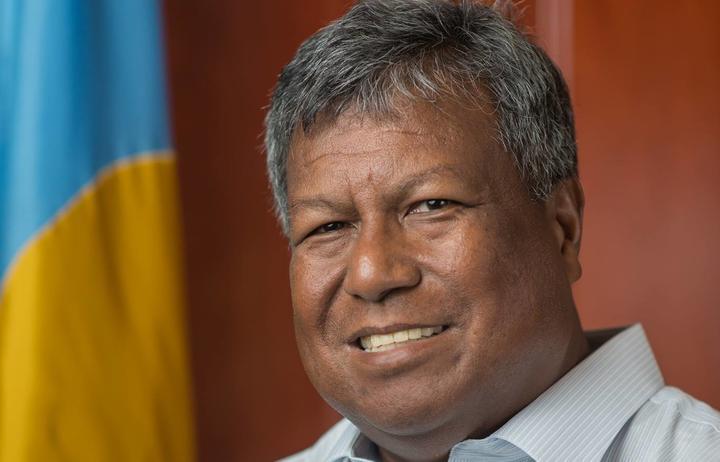Palau Health Minister, Emais Roberts