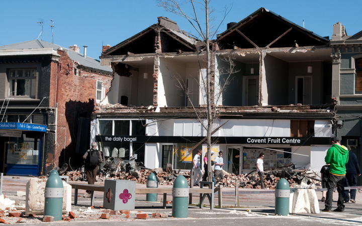The day after Canterbury was rocked by the 7.1 earthquake on 4 September 2010.