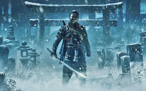 Ghost of Tsushima on PS4.
