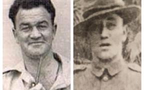 William Augustine Priestley and Joseph Hemotu Campbell fought in the Māori Battalion's C Company.