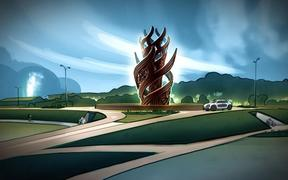 An artist's impression of the sculpture. PHOTO/ROTORUA LAKES COUNCIL