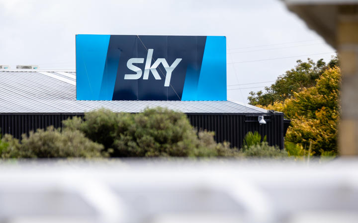 Sky headquarters in Mt Wellington.