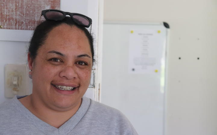 Hukarere Girls' College hostel manager Amelia Kaui.