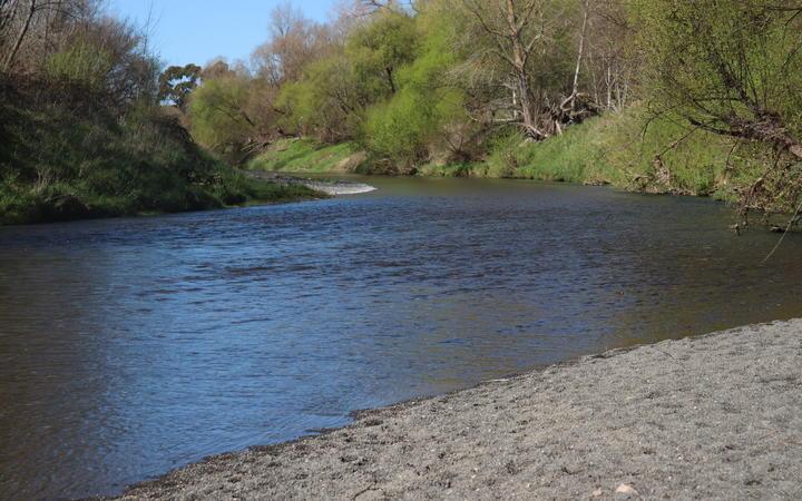 Esk River beside Eskdale Park.