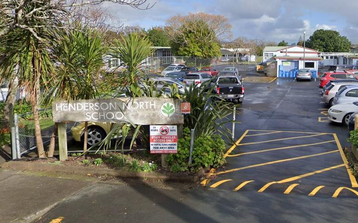 A student at Henderson North School in Auckland has tested positive for Covid-19.