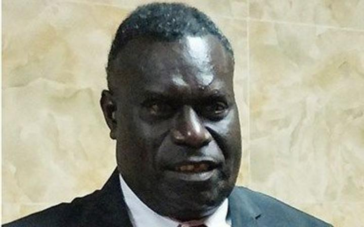 Minister of Bougainville Affairs, Simon Dumarinu