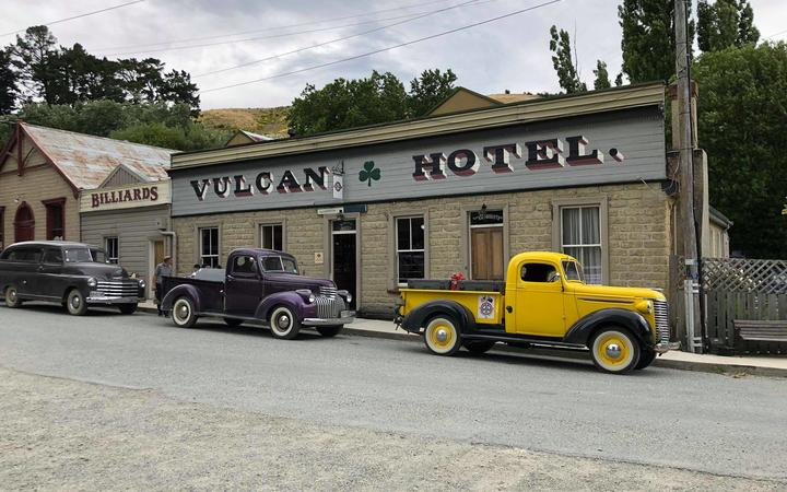 The St Bathans Vulcan Hotel.