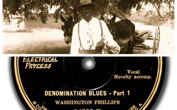 Washington Phillips Re-Discovered
