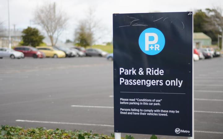 Auckland Transport's Park & Ride facility in Dalgety Drive, Wiri.