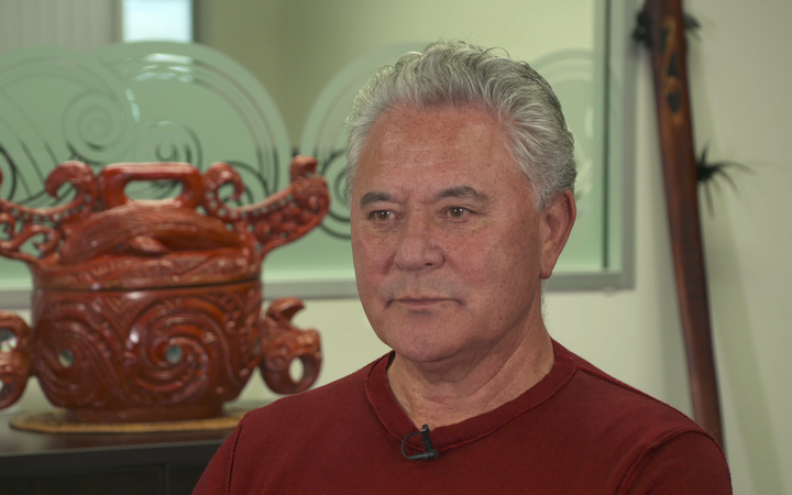 Co-leader of the Māori Party, John Tamihere.