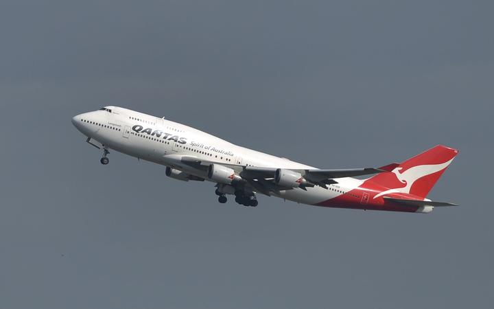 Australia's Qantas reported a record $A2.8 billion loss for the year ended June 2014.