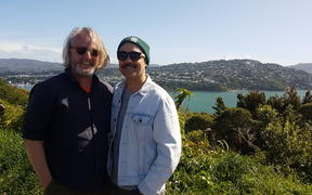 Alistair Fraser and Riki Gooch at Piki Ki Maupuia