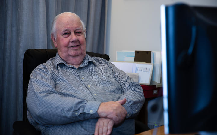 Denis Lane, a retired forensic accountant who, until the first lockdown, regularly used the pool at the Laura Fergusson Trust on Auckland's Great South Road.