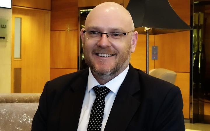 Ross Bell, Executive Director of the New Zealand Drug Foundation