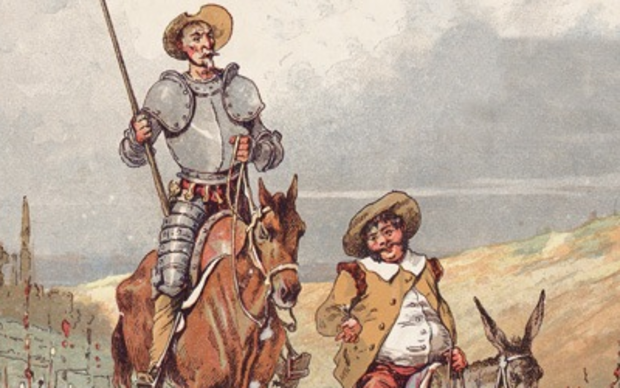 an analysis of the symbolism in the spanish novel don quixote by miguel de cervantes saavedra Miguel de cervantes miguel de cervantes saavedra , born  cervantes was the author of the novel don quixote,  written analysis of a case for san miguel.