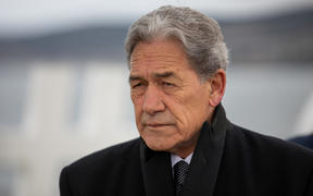 Winston Peters at an election campaign event in Taupō, 17 Sept 2020