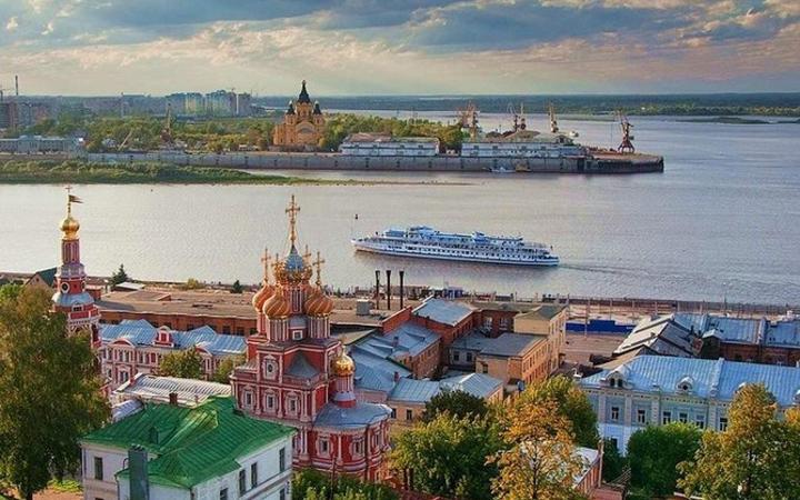 Russian city in which editor Irina Slavina set herself alight