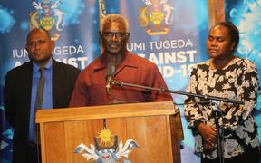 Solomon Islands PM, Manasseh Sogavare, has announced the country's first Covid case