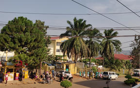 Morning rush at Entebbe Hosptial
