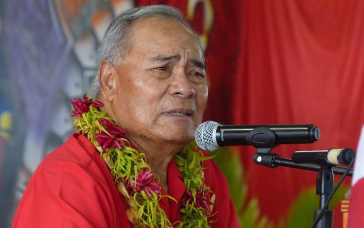 American Samoa Governor Lolo Matalasi Moliga