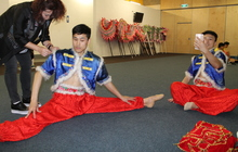 Chinese New Year - dancers, dragons and football!