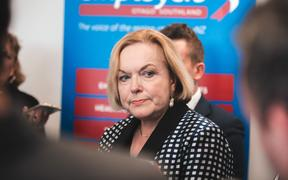 Judith Collins - National party Dunedin campaigning