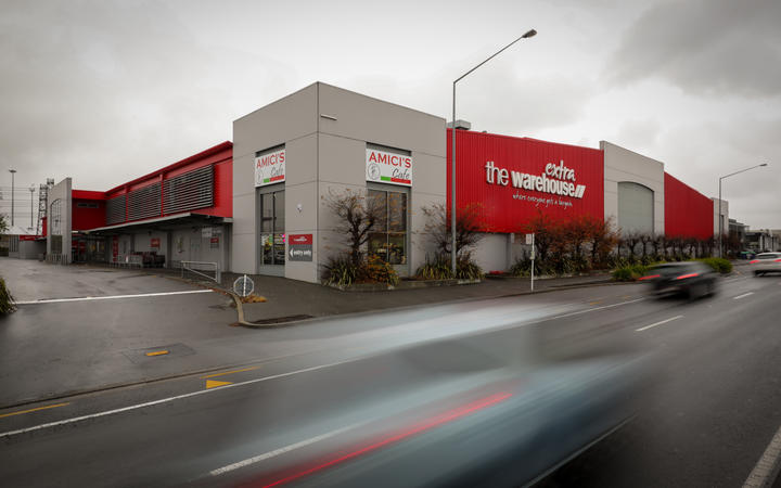 Warehouse on Blenheim road in Christchurch