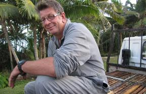 Andrew Cory of the Niue Honey Company