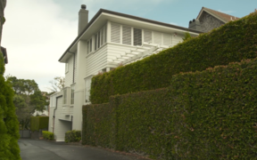 The $5 million Parnell house bought by Auckland University for its vice chancellor.