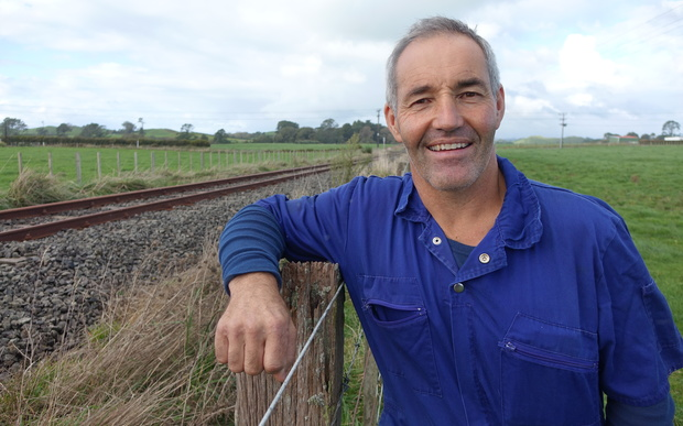 Stratford farmer Grant Boyde enquired about buying the KiwiRail land but was told he couldn't.