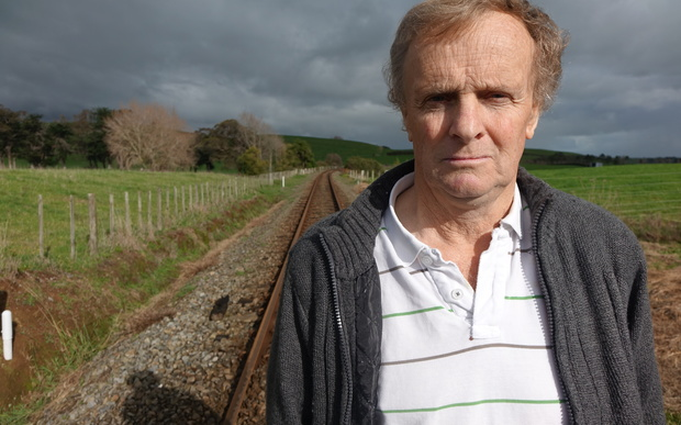 Eltham dairy farmer Bill Gribble says it is uneconomic to lease the KiwiRail land at the new price.