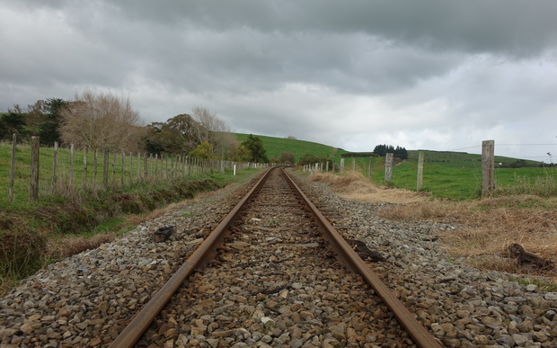 Four metres of paddock each side of the railway line belongs to KiwiRail.