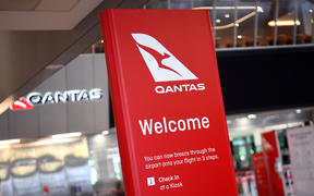 A general view shows the empty Qantas departure terminal at Melbourne Airport on August 20, 2020.