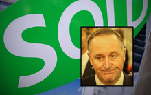 John Key, Sold sign