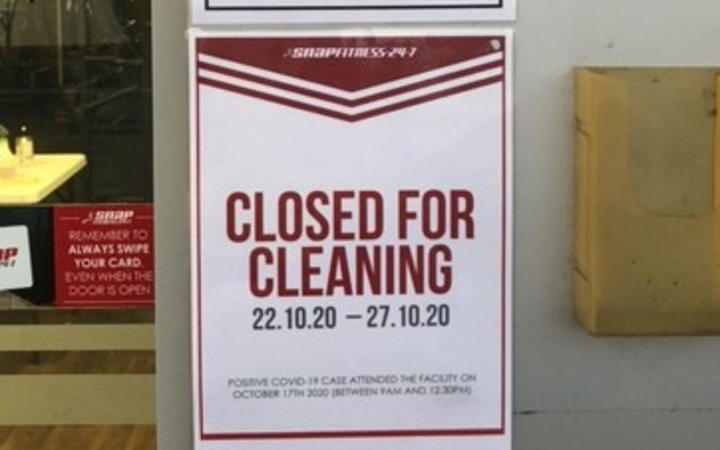 Snap Fitness closed for Covid deep cleaning - Browns Bay gym on Auckland's North Shore