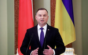 Polish President Andrzej Duda has tested positive for Covid-19.