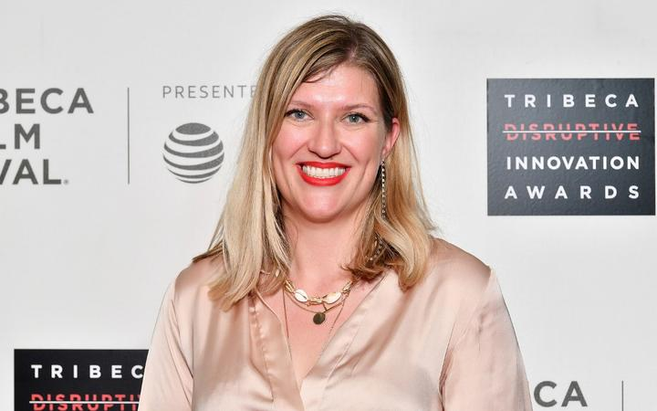 NEW YORK, NEW YORK - MAY 03: Beatrice Fihn attends the Tribeca Disruptive Innovation Awards during the 2019 Tribeca Film Festival at BMCC Tribeca PAC on May 03, 2019 in New York City.