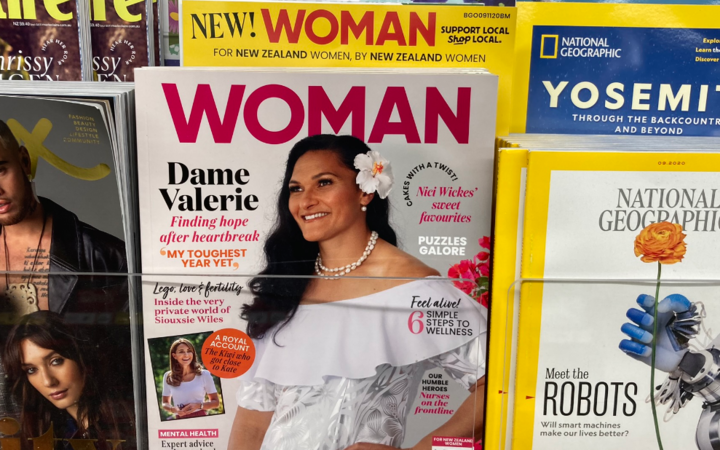 The debut issue of Woman magazine - one of several filling big gaps on local newsstands created by the economic chaos of Covid 19 and the closure of Bauer Media.