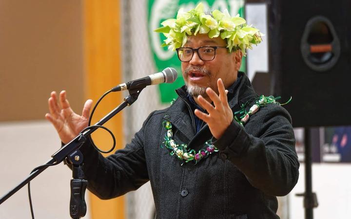 Green MP Teanau Tuiono