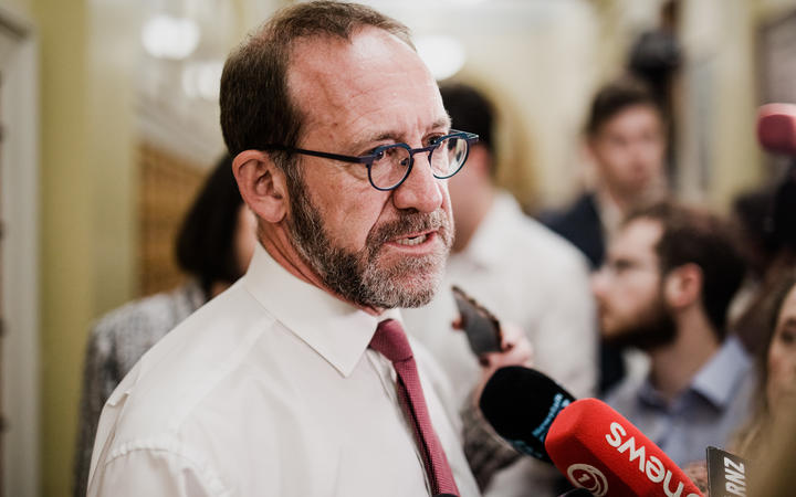 Andrew Little heading into the Labour caucus where Prime Minister Jacinda Ardern will brief MPs on her ministerial preferences for the new government.